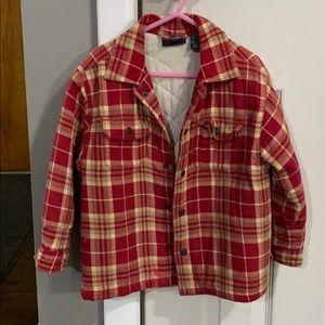 Kids flannel jacket